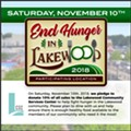 First End Hunger in Lakewood Day to Take Place Nov. 10