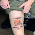 Cleveland Man Gets Browns Super Bowl Champs Tattoo On Body On Purpose