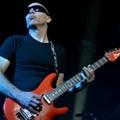 Joe Satriani playing at the Lakewood Civic Auditorium