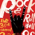 CIA Students Create Posters for Rock Hall Inductions