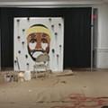 Cleveland Teen Live-Paints LeBron James Mural
