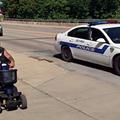 'Ohio Man' Bites Ears, Hops Fences and Drops His Pants