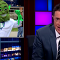 Stephen Colbert Introduces the World to 'Buddie,' ResponsibleOhio's New Mascot