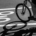 Is W. 25th Bike Lane Buffer on the Wrong Side?