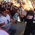 VIDEO: Cleveland Browns Fans Get Engaged in the Muni Lot on Sunday