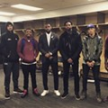 Kevin Love Finally Made It Into the Cavs' Post Game Instagram Photo