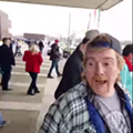 """Video: Man at Cleveland Trump Rally Says """"Go Back to Auschwitz"""""""