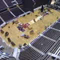 Video: Crews Begin Transforming The Q to Host the RNC