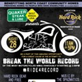 Hard Rock Rocksino to Host World Record Attempt for Motorcycles Started Simultaneously