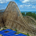 Is Cedar Point Retooling the Mean Streak as a Steel-Wood Hybrid Coaster?