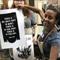 Zygote Press Hosted a Women's March Poster Party in Advance of Inauguration Weekend