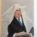 A Cleveland Artist Is Raffling Off This Glorious Painting of George Bush Tonight to Benefit the ACLU