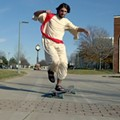 Why One University of Akron Student Longboards Around Campus Dressed Like Jesus