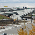 ODOT Finally Fixed the Really Annoying and Badly Designed East Ninth Entrance Ramp Lane Onto the Innerbelt Bridge