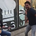 Luke Bryan Surprises Cleveland Street Guitarist, Dances to his Own Music