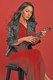 PHOTO BY SOLAIMAN FAZEL - Lucia Micarelli comes to Playhouse Square. See: Thursday.