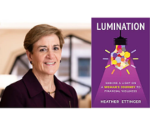 Heather Ettinger, Author of Lumination - Uploaded by Hudson Library & Historical Society