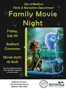 Flyer for Family Movie Night - Uploaded by T00gr00vy