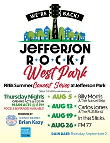Jefferson Rocks West Park concert series brings free live music and a beer garden to Jefferson Park in Cleveland for four Thursday evenings in August - Uploaded by iscott