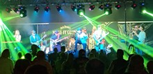 Rolling Stones Tribute Band - Gimme Sugar - Uploaded by bob hughes