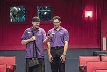 STEVE WAGNER PHOTO - Christopher Bohan, left, and Gordon Hinchen
