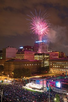 PHOTO BY ROGER MASTROIANNI - The Cleveland Orchestra returns to Mall B - for the 28th annual Star-Spangled Spectacular. See: Friday.