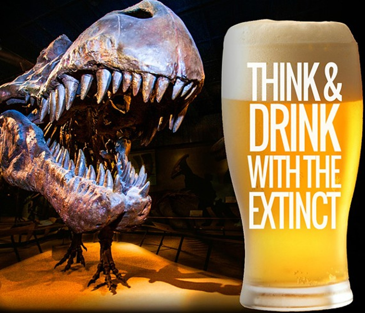 Drink And Eat Event At Cleveland Museum Of Natural History
