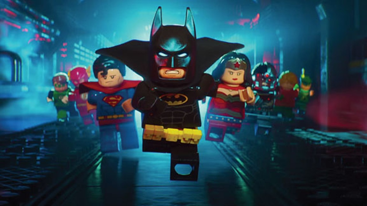 Lego Batman Movie Falls To Pieces Film Features Cleveland Cleveland Scene