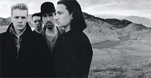 U2, trying to remember where they parked the car.
