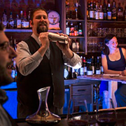 Unique 'Cockpit' Puts Dante Diners Behind the Bar for Fun, Food, Booze
