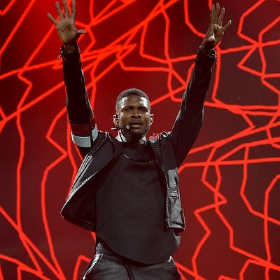 Usher Performing at Quicken Loans Arena