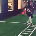 VIDEO: Browns' Andrew Hawkins Has Crazy Foot Skills