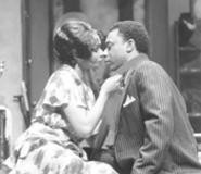 Vivian Reed and Alvin Keith in Blues for an - Alabama Sky.