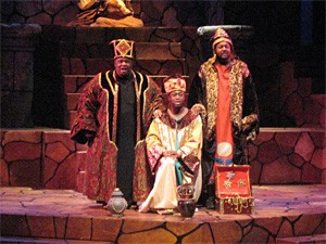 We three kings of Orient are: Syrmylin Cartwright, James Washington, and Titus Jackson.