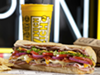 Which Wich is located in the Uptown Solon Shopping Center, 6025 Kruse Dr #119, Solon.