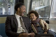 Will Smith and his real-life son offer Happyness' only true sparks.
