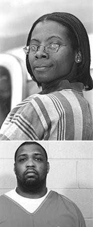 Will the real Jeffery McClain please stand up? (That's - Johnetta Crosby on top.) - WALTER  NOVAK
