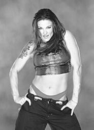 WWEs Lita is back in the ring and ready to unleash - some hell.