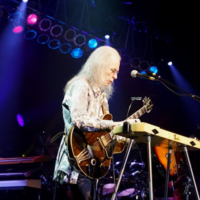 Yes Performing at Hard Rock Live