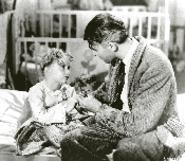 """You call this a happy family? Why do we have to have - all these kids?"" The heartwarming It's a Wonderful - Life shows on Christmas Day."