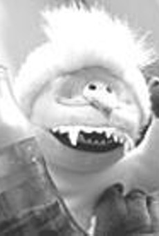 You might just see this guy at Fridays Search for the      Abominable Snowman.