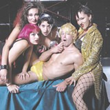 A scene from Cardinal Rep's Rocky Horror show