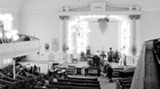 "A scene from the documentary film ""It's About You."" John Mellencamp is recording ""No Better Than This"" inside Savannah's First African Baptist Church. (Photo: Kurt Markus)"