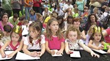 A shot from last year's Savannah Children's Book Festival