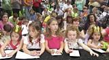 A shot from last year's Savannah Children's Book Festival