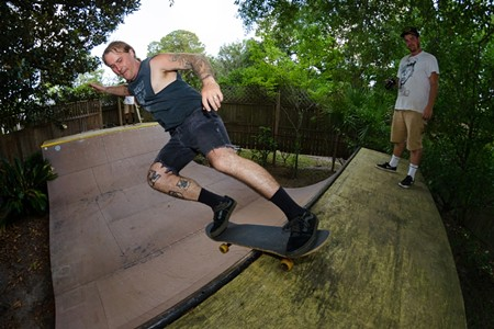 ABOVE: Chatham County Skatepark Supporters CEO Ben Maher has spent the last decade working on behalf of the public-private partnership. - TODD MALOY