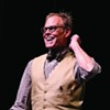 Alton Brown is live and edible and coming to town