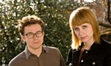 Andy Stack and Jenn Wasner are Wye Oak, from the great state of Maryland.