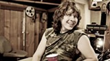 Austinite Ben Kweller in the studio