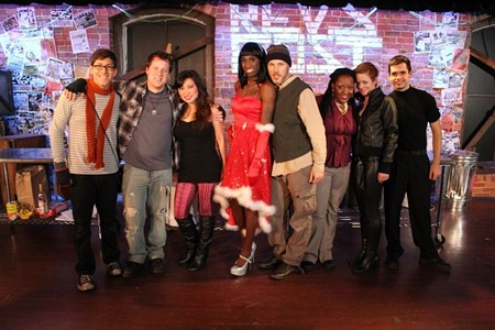 """Bay Street's """"Rent,"""" 2012: """"With that cast, there was a lot of trust going both ways,"""" says director Rand."""